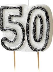 Kaarsen 50 in het grijs