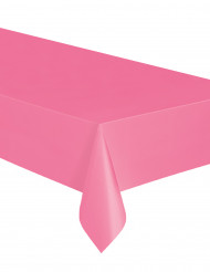 Roze plastic tafelkleed