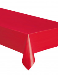 Rood tafelkleed rechthoekig 137 x 274 cm