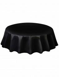 Rond zwart tafelkleed