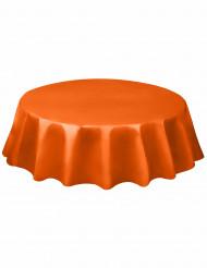 Rond oranje tafelkleed