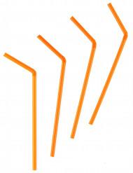 Oranje rietjes