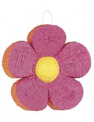 Pinata roze met oranje bloem