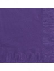 50 paarse servetten