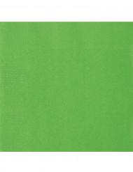 Set van 50 lichtgroene servetten