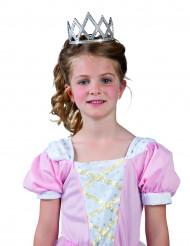 Glanzende plastic prinsessendiadeem voor kinderen