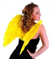 Gele vleugels voor volwassenen