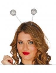 Haarband met discoballen