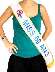 Blauwe Miss-sjerp 60 jaar