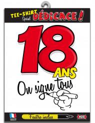 18 jaar t-shirt