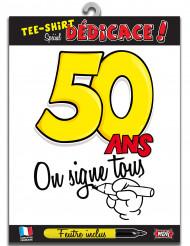 50 jaar t-shirt voor volwassenen