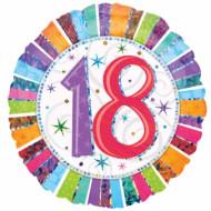 Ronde folie ballon 18 jaar