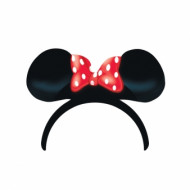 4 Minnie™ haarbanden