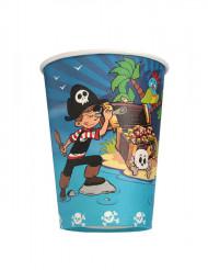 6 piraten bekers
