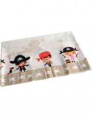 Plastic piraten tafelkleed