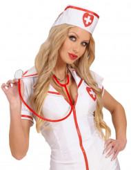 Rode stethoscoop voor volwassenen