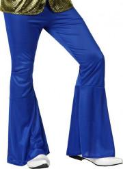 Donkerblauwe discobroek voor mannen