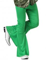 Groene discobroek voor mannen