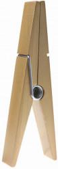 Grote goudkleurige wasknijper