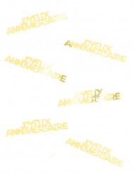 Joyeau Anniversaire verjaardag confetti