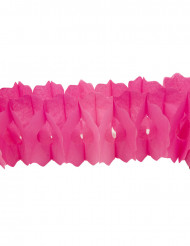 Roze papieren slinger