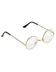 Goudkleurige bril voor volwassenen
