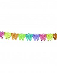 Papieren vlinderslinger van 6 meter