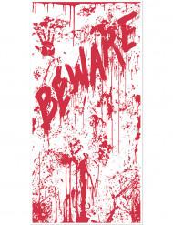 Bloederige Beware deurdecoratie