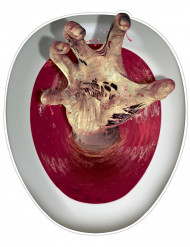 Zombiehand wc bril sticker