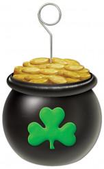 Foto houder pot met goud voor St Patrick's Day