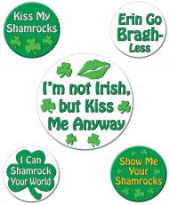 Grappige Saint-Patrick badges