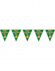 Slinger met vlaggetjes voor St Patrick