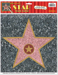 Muurversiering Walk of Fame