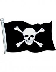 Piraten muurversiering