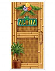 Hawaii deur decoratie