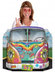 Hippie Flower Power photobooth set