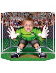Voetbal keeper fotobord