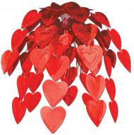 Waterval van harten voor Valentijnsdag