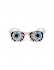 Grappige bril witte Mishka