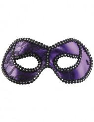 Paars Venetiaans masker voor volwassenen