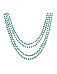 Groene metale halsketting