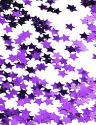 Paarse sterren confetti