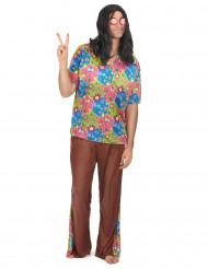 Hippie jaren 60 kostuum voor heren