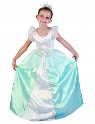 Blauwe prinsessen kostuum voor meisjes