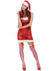 Sexy kerstvrouw pak voor dames