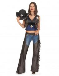 Wilde westen cowgirl outfit voor vrouwen