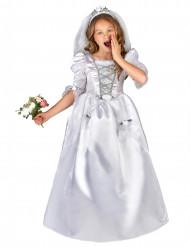 Witte bruid kostuum voor meisjes