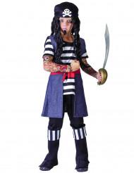 Getatoeëerde piraten kostuum