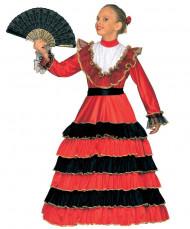 Spaanse danseres verkleedkleding voor meisjes