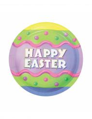 8 Happy Easter dessertborden